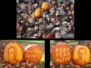 Photo: Rally Pumpkins for the Restore Sanity and/or Fear Rally Washington DC 10.30.10