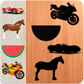 Puzzles For Toddlers - Cars Animals Fruits Vehicle APK
