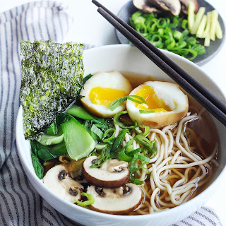 Easy & Light Shoyu Ramen Soup.