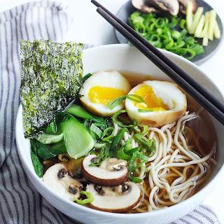 Easy & Light Shoyu Ramen Soup.
