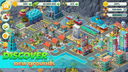 Town City - Village Building Sim Paradise Game 2.2.3 screenshots 3