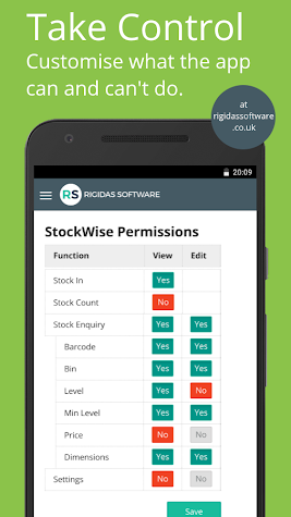StockWise for Linnworks Screenshot