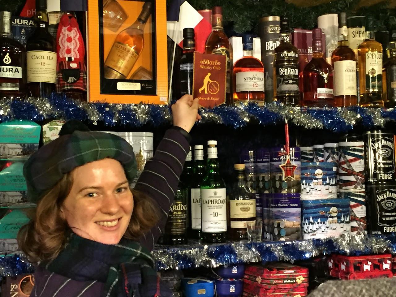 Xmas Market Nuremberg - Glasgow stand