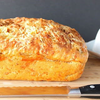 Cheesy Jalapeno Quick Bread