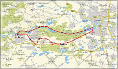 Photo: GPS Touraufzeichnung unter >> http://72g.de/Hp5