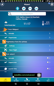 Halifax Airport+Flight Tracker screenshot 1