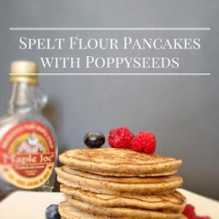 Spelt Flour Pancakes with Poppyseeds Recipe