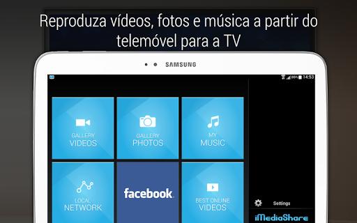 iMediaShare – Fotos e Música screenshot 8