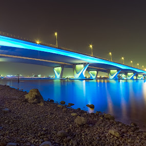 Garhoud Bridge Dubai by Ricky Pagador - Buildings & Architecture Bridges & Suspended Structures ( bridge, bridges )