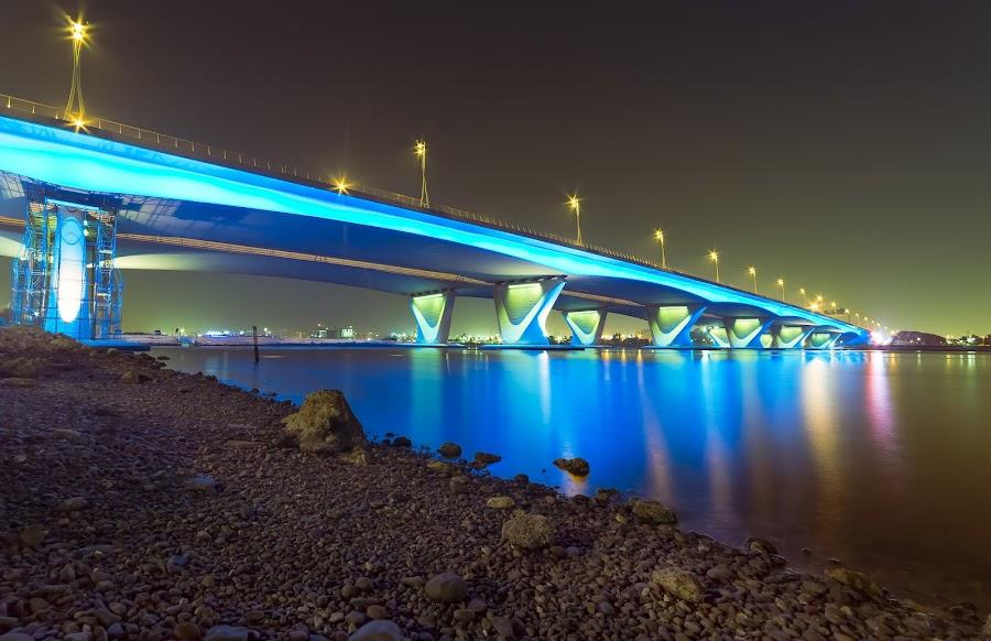 Garhoud Bridge Dubai by Ricky Pagador - Buildings & Architecture Bridges & Suspended Structures ( bridge, bridges )