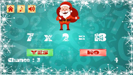 Clever Santa Math Challenge - náhled