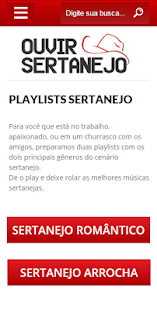 Ouvir Sertanejo- screenshot thumbnail