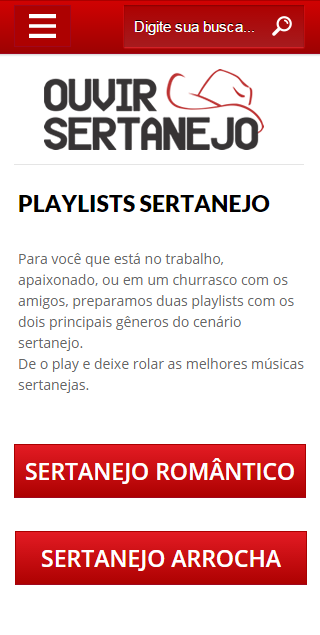 Ouvir Sertanejo- screenshot