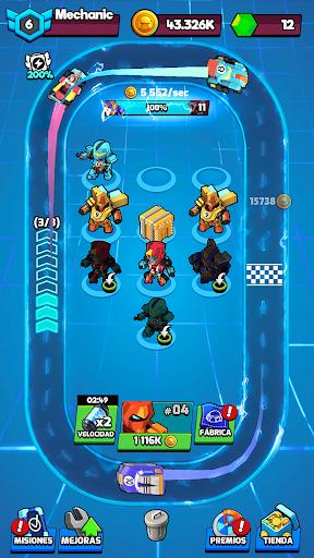 Merge Robots - Click & Idle Tycoon Games apkdebit screenshots 2