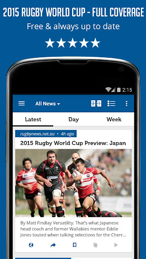 Rugby Cup RWC News