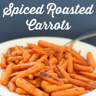 Spiced Roasted Carrots.