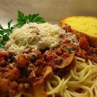 Spaghetti Sauce III