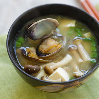 Asari Miso Soup (Miso Soup with Clams)