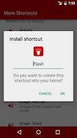 Screenshot of More Shortcuts