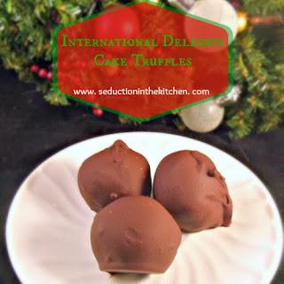 International Delights Cake Truffles Recipe