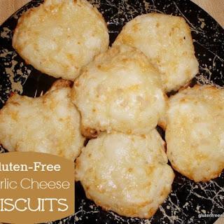 Gluten-Free Garlic Cheese Biscuits.