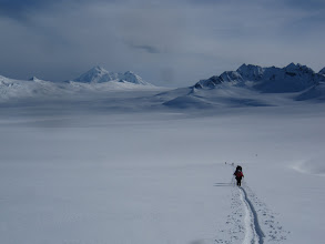 Photo: in the chigmits, redoubt behind