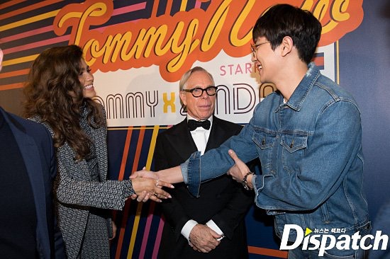 Zendaya and Chanyeol