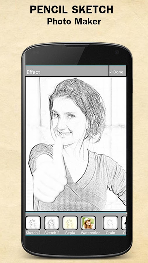 Sketch Photo Maker- screenshot