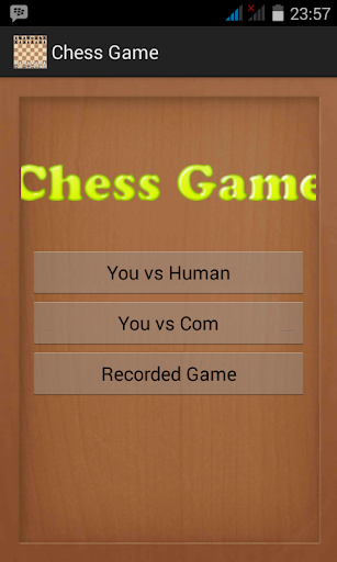 Chess Game Android