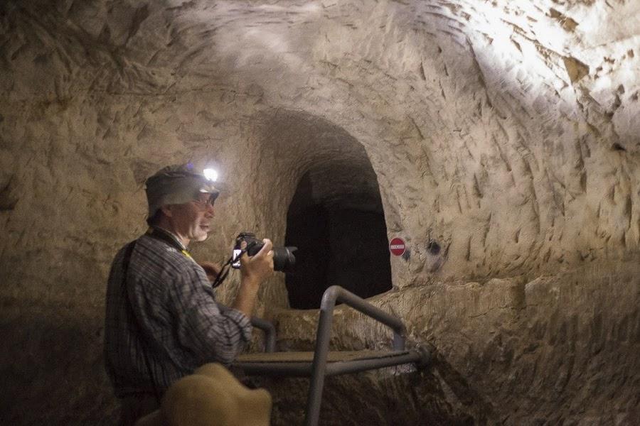 Тайный ход повстанцев Бар-Кохвы  в пещере в Хирват Бургин. Экскурсия в Израиле.