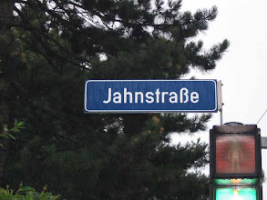 Photo: Jahn Street. Wonder if it's a relative?