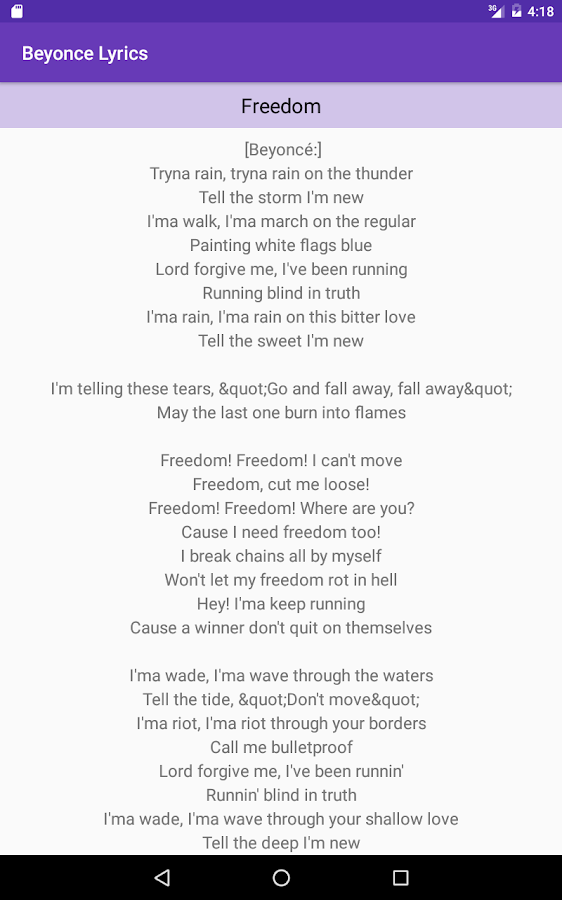 Lyric rain song lyrics : Beyonce Lyrics - All Songs - Android Apps on Google Play