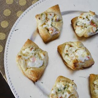 Crab Puff Pastry Bites.