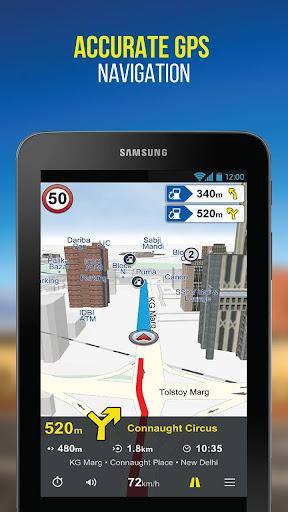 NaviMaps: 3D GPS Navigation 3.0.3 Screenshots 9
