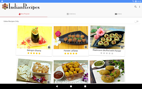 IndianRecipes.com: Indian Recipes & How-To Videos- screenshot thumbnail
