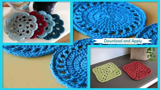 Easy Crochet Coaster Patterns App Report On Mobile Action