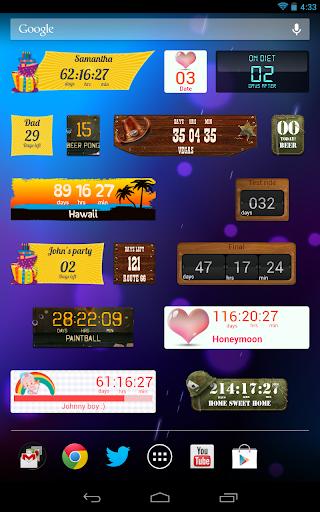 Countdown Widget screenshot 20