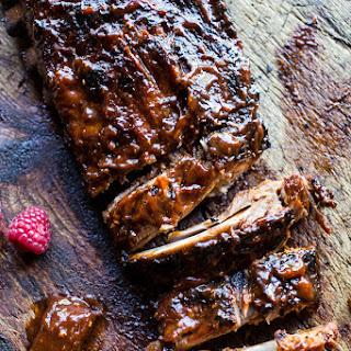 Crockpot Grilled Fiery Habanero Apricot BBQ Ribs..