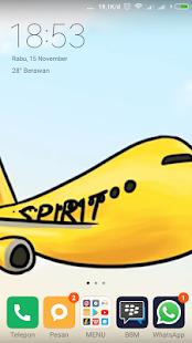 spirit airline - náhled