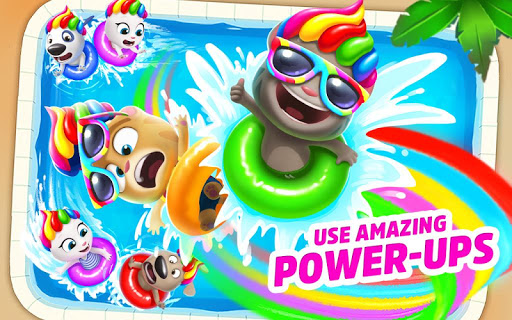 Talking Tom Pool Mod Full Tiền Vàng (Coins) Key