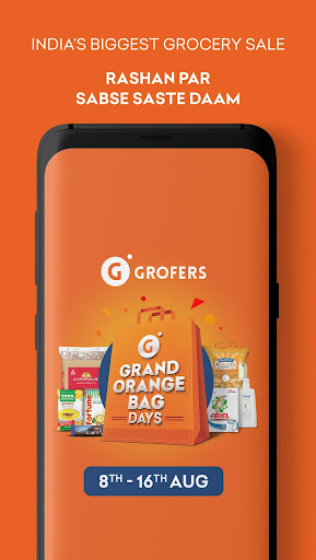 Grofers-grocery delivered safely with SuperSavings 5.5.54 screenshots 2