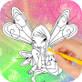 How to Draw Winx APK icon