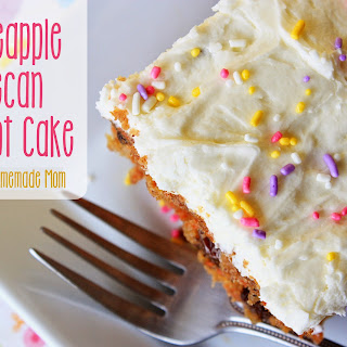 Pineapple Pecan Carrot Cake.