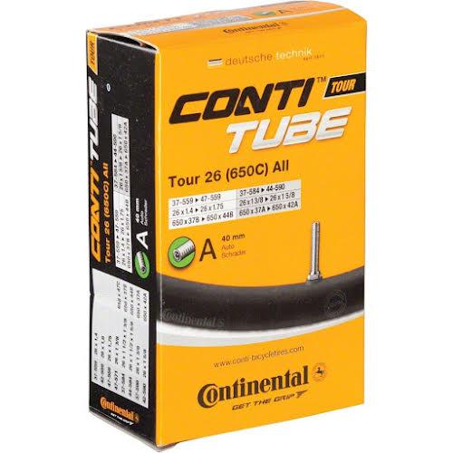 """Continental 26x1.4-1.75"""" 40mm Schrader Valve Tube"""