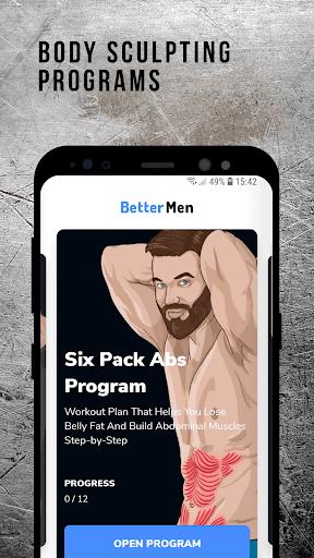 BetterMen: Workout Trainer  image 3