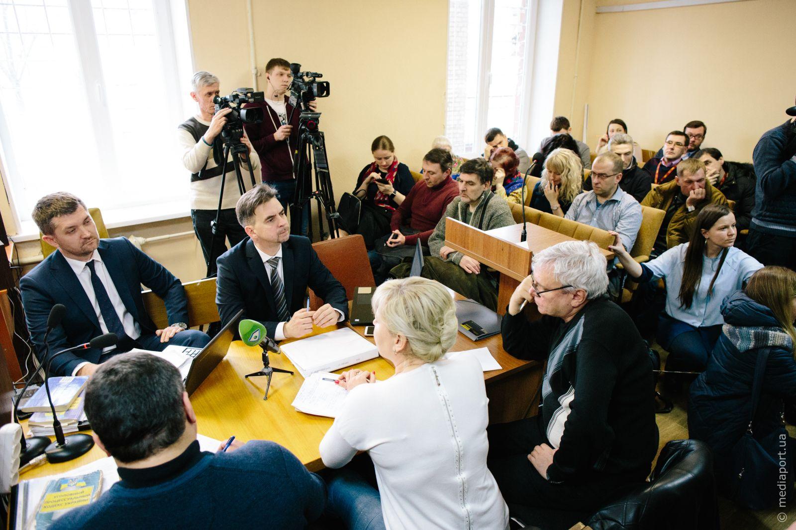 Засідання у справі про теракт біля Палацу спорту 20 лютого 2019 року. Фото Павла Пахоменка
