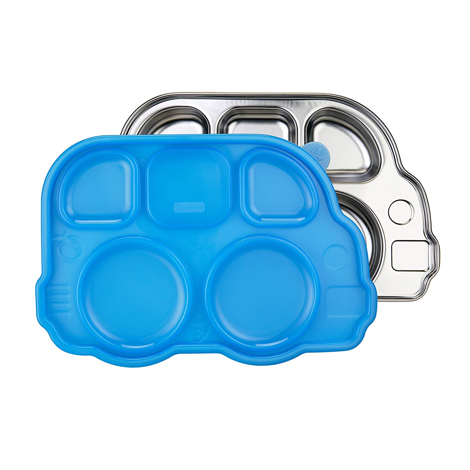 Innobaby Stainless Steel Divided Plate