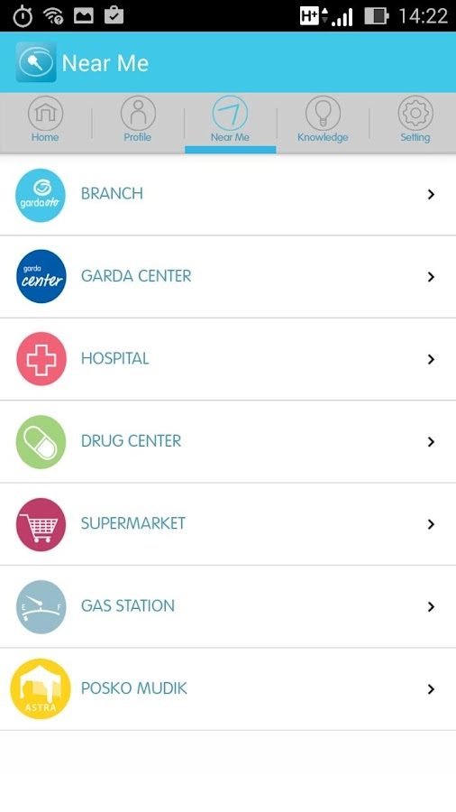 Garda Mobile - Otocare - screenshot
