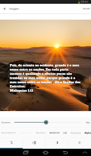Bíblia Sagrada: miniatura da captura de tela