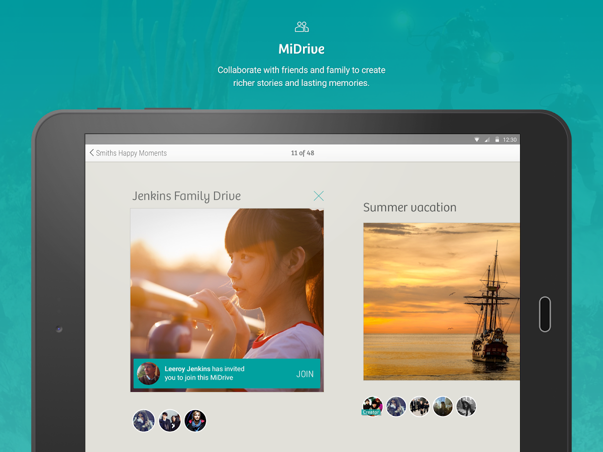 MiMedia- screenshot